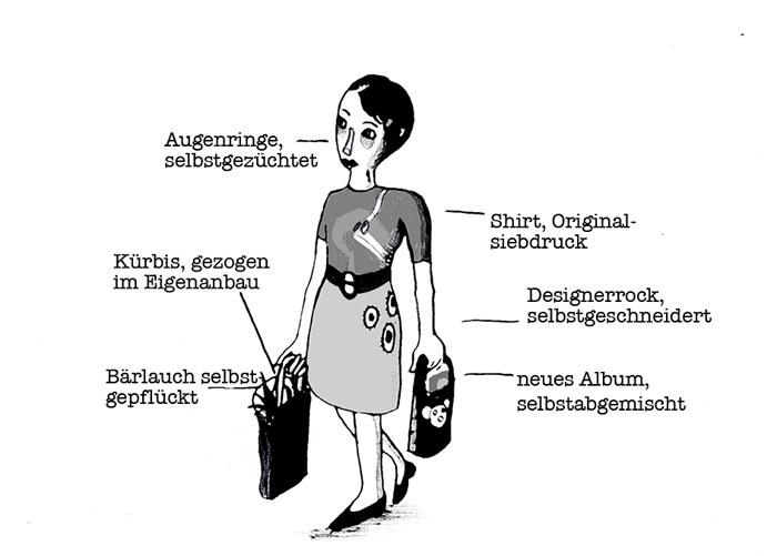 bonustrack feminismus oesterreich clara luzia  Illustration: Lina Walde