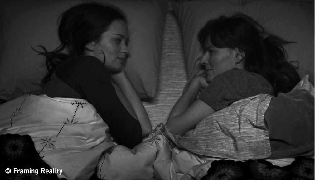 """Emily Blunt und Rosemarie DeWitt in Lynn Sheltons Komödie """"Your Sister's Sister."""""""