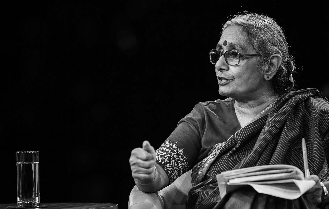 Aruna Roy beim World Economic Forum 2014 in Neu-Delhi. © World Economic Forum / Foto: Benedikt von Loebell