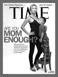 Dieses Cover brachte die hitzige Debatte um Attachment Parenting ins Rollen. © samchills, flickr