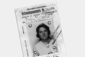 Falscher Ausweis von Rosa Jochmann (lebte 1901-1994; war 1940-1945 im KZ Ravensbrück interniert) aus dem Jahr 1938 © Verein für Geschichte der ArbeiterInnenbewegung