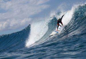 Keala Kennelly setzt auf Gleichberechtigung im Surfsport. © Sachi Cunningham