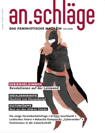 Cover An.schläge Magazin 8-2019