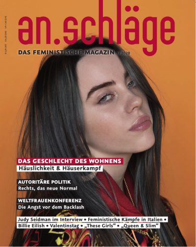 Cover An.schläge Magazin 1-2020